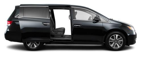 2016 Honda Odyssey Side View