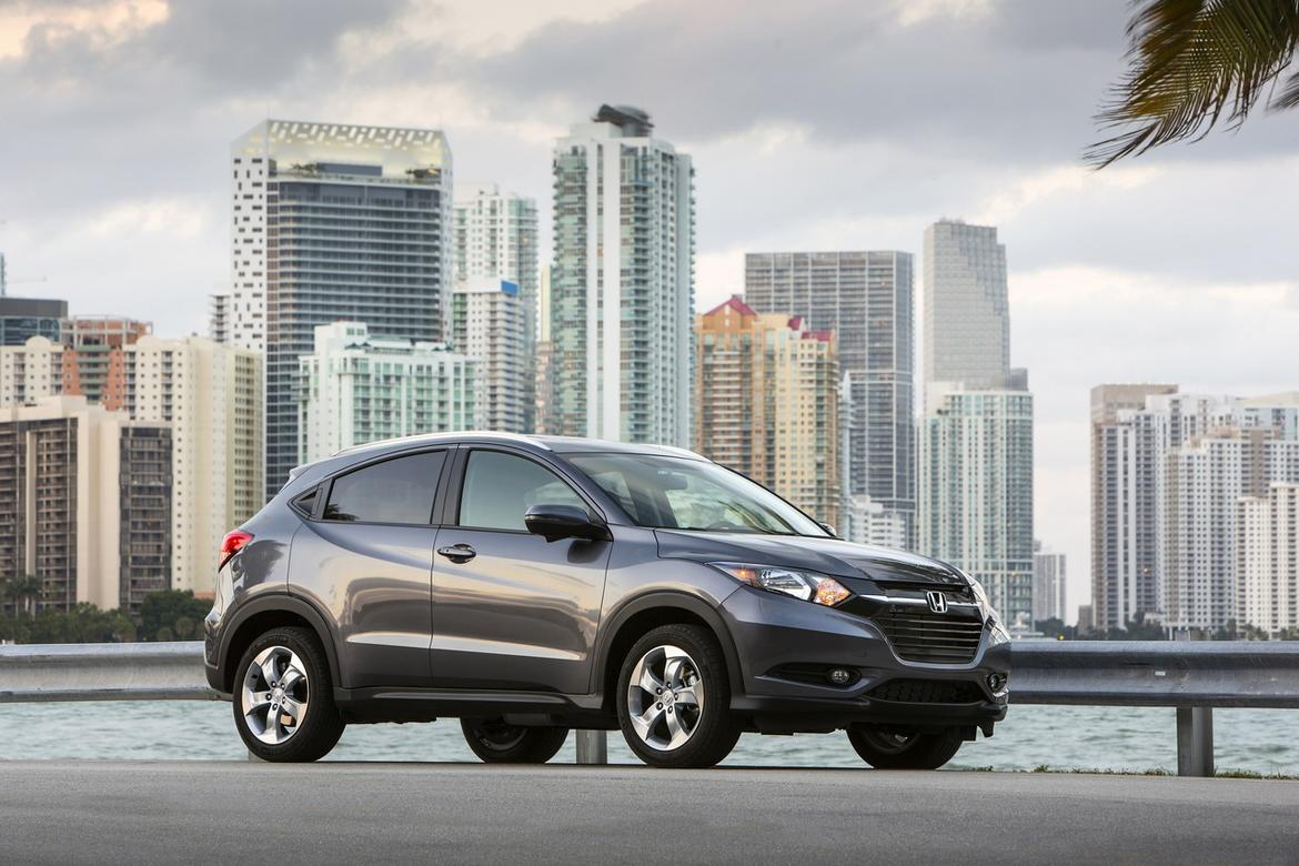 2016 honda hr v trims lx vs ex vs ex l o 39 daniel honda omaha. Black Bedroom Furniture Sets. Home Design Ideas