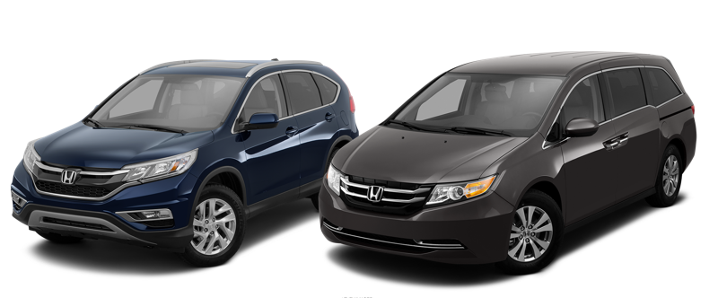 CR-V and Odyssey