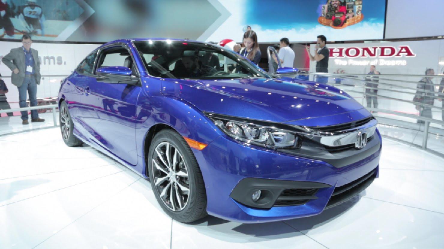 New Civic Coupe Revealed At LA Auto Show ODaniel Honda Omaha - Omaha car show