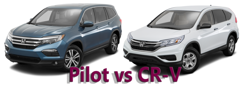 honda pilot vs cr v which roomy suv is the right fit for. Black Bedroom Furniture Sets. Home Design Ideas