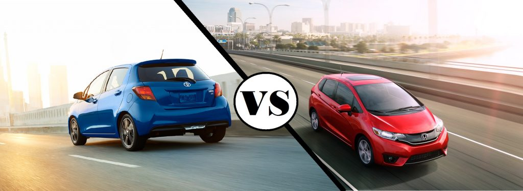 2017 Honda Fit vs. 2017 Toyota Yaris