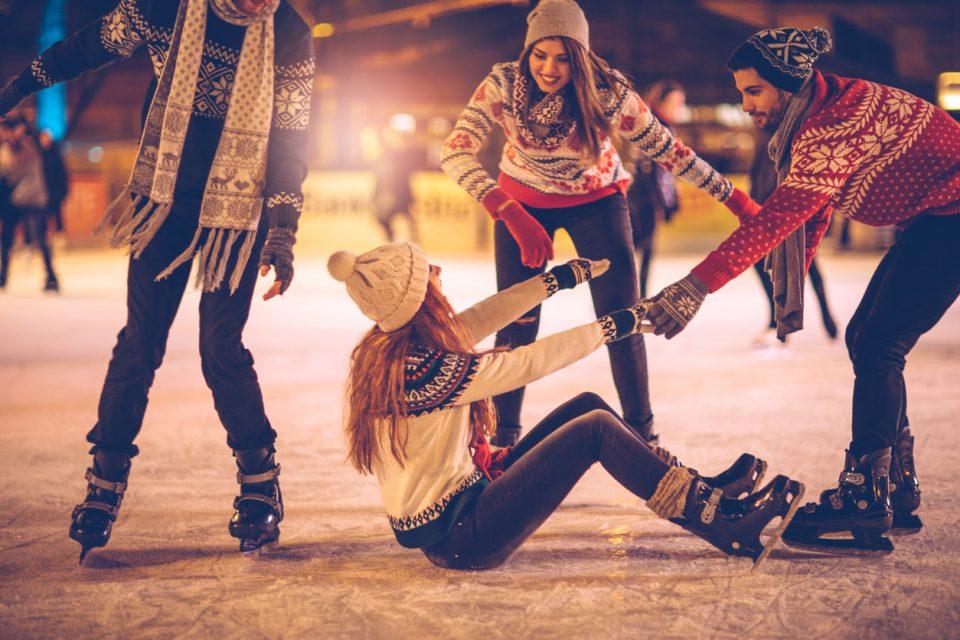 Skating at Midtown Crossing