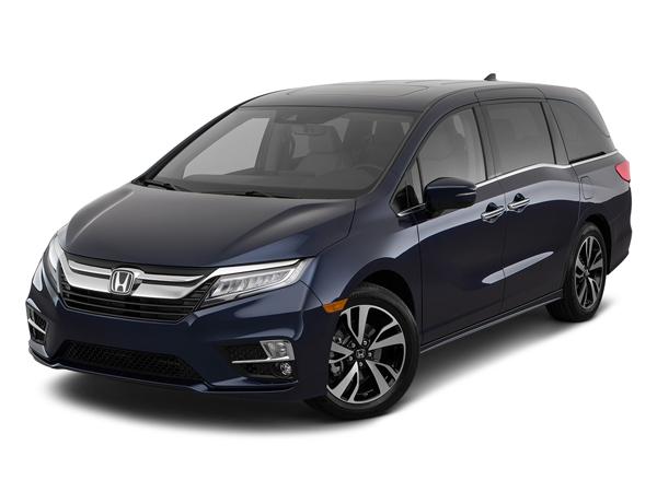 Blue 2020 Honda Odyssey